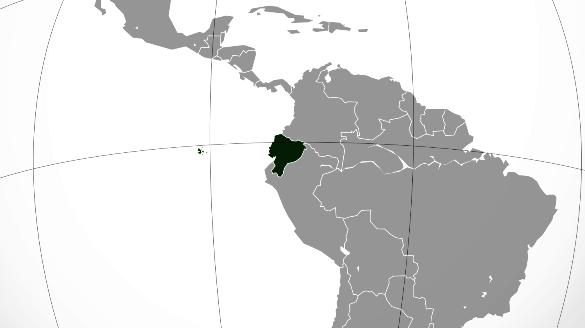 Ubicación geográfica del Ecuador